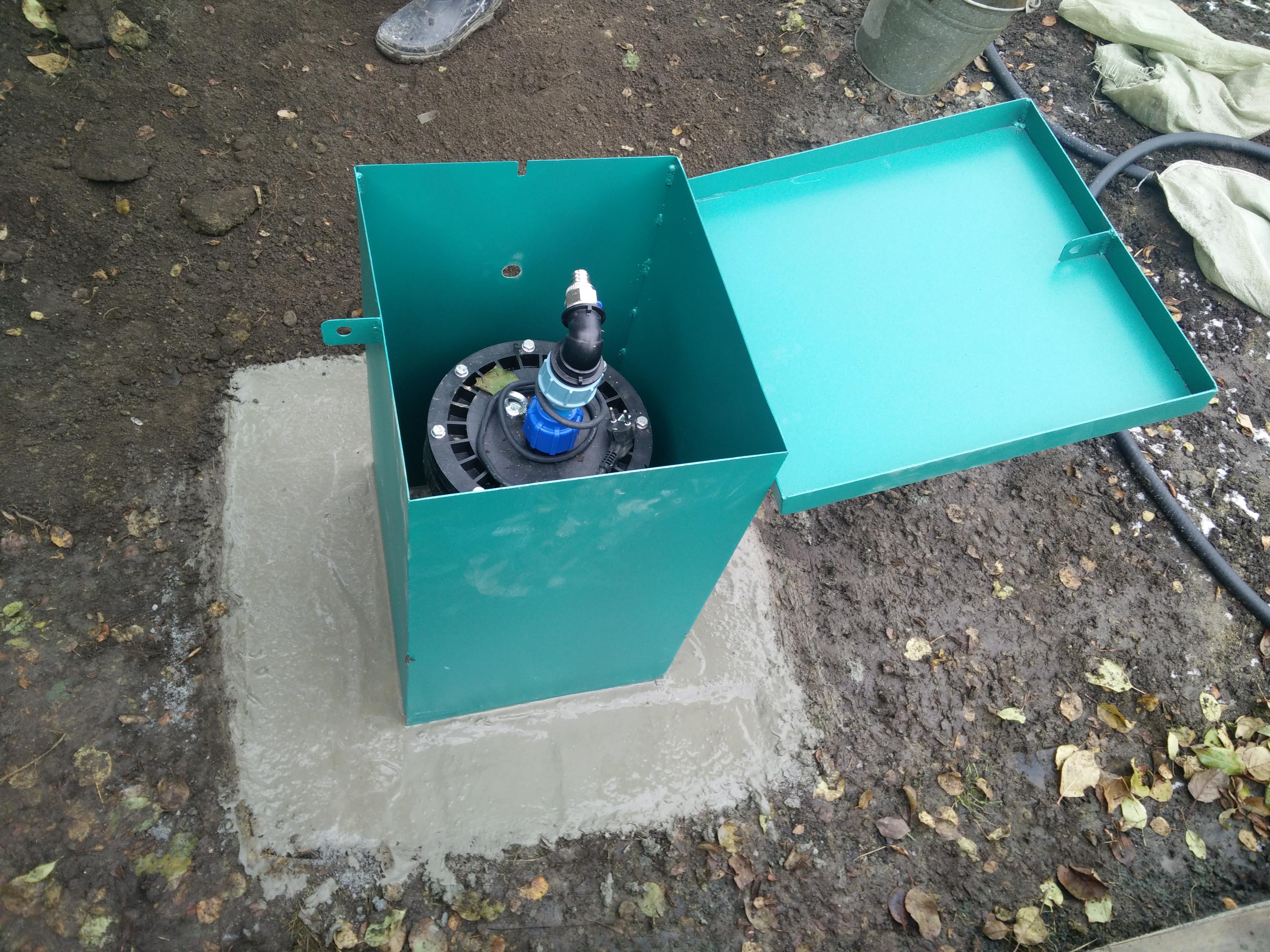 Ящик для скважины своими руками 61